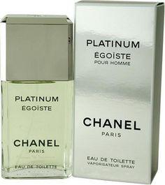 Egoiste Platinum by Chanel for Men, Eau De Toilette Spray, 3.4 Ounce by CHANEL,