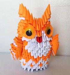 Etsy の 3d Origami owl medium by 3DOrigamiArtStudio