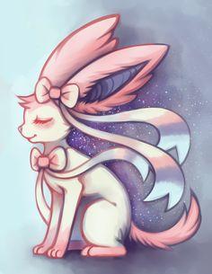 "Sylveon feralynn: "" everyone's favorite magical girl~*` """