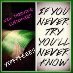Tara Orlick...YOU are on fire girl. ..congrats on your Newest THRIVING Customer today. Way to share the Thrive love!!