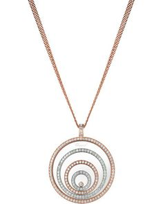 Happy+Spirit+18k+Two-Tone+Diamond+Long+Pendant+Necklace,+3.17tcw+by+Chopard+at+Neiman+Marcus.
