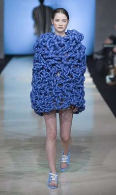 Beckmans College of Design Fashion Graduates Show Sweden....what a waste of time and resources.