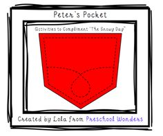 Peter's Pocket Activities to Go With Book, A Snowy Day by Ezra Jack Keats (free; from Preschool Wonders)