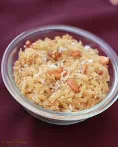 Flattened rice (also called beaten rice) is called Poha in Hindi, Avalakki in Kannada, Atukulu in Telugu and Aval in Tamil. In India, Poha/ Flattened rice is Veg Recipes, Sweet Recipes, Cooking Recipes, Vegetarian Snacks, Vegetarian Cooking, Indian Dessert Recipes, Indian Sweets, Navratri Recipes, Poha Recipe