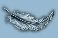 white feather small copy