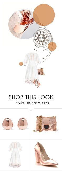 """""""Haute Couture 3.5"""" by sharmarie ❤ liked on Polyvore featuring Monica Vinader, Jimmy Choo, Temperley London and Shoes of Prey"""