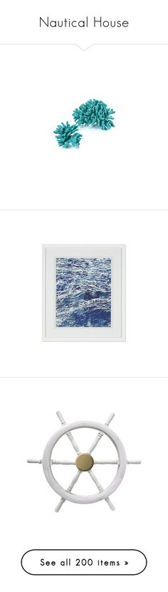 """Nautical House"" by styledbyissiyani ❤ liked on Polyvore featuring Summer, beach, Home, house, decor, fillers, blue, backgrounds, accessories and effect"