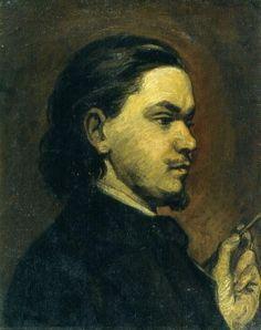 Karel Purkyně - Vlastní podobizna s bradkou (cca Painting, Art, Art Background, Painting Art, Kunst, Paintings, Performing Arts, Painted Canvas, Drawings