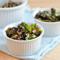 Last Minute Appetizer: Crispy Brussels Sprouts Chips