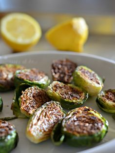 8 minute blackened brussels sprouts recipe, www.mountainmamacooks.com