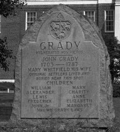 Grady Family of Duplin John and Mary Whitfield Grady had 11 children. Their son, Frederick, is my 5th great grandfather.