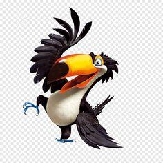 Parrot Cartoon, Cartoon Dolphin, Cartoon Birds, Crocodile Illustration, Flamingo Illustration, Parrot Drawing, Parrot Wings, Cartoon Chef, Cartoon Chicken