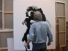 Dutch painter and artist Gerard 't Hart is well known for a strong human interest in his paintings. Watch him at work in his studio at The Hague. Here he is ...
