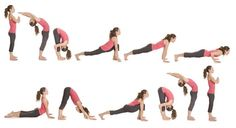 A Yoga Sun Salutation Your Back Will Love - and that You can Do At Your Desk