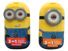 Despicable Me Minion 3-in-1 Bodywash Shampoo and Conditioner Strawberry Banana and Banana Scented Two 14 Fl Oz Bottles ** Be sure to check out this awesome product.