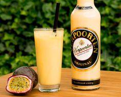 Cocktail mit Eierlikör und Maracuja✓ Eierlikör Maracuja Drink für die Mädelsparty✓ Eierlikör Maracuja Rezepte auf verpoorten.de