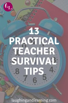 We are all educators alike, and face similar challenges. Apply these 13 practical teacher survival tips so you can continue to laugh and learn as you teach! Teacher Survival, Teacher Hacks, Best Teacher, Survival Tips, Kindergarten Teachers, Elementary Teacher, Secondary Teacher, Thematic Units, Learning Styles