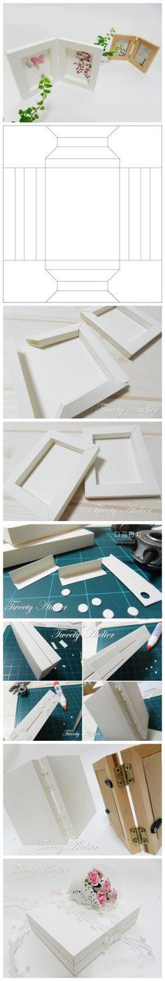 Paper Folding Diy Handmade Stereo Frame