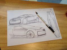 Daily sketch by Jun Kim