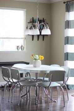 Retro Diner Set Upholstered (scheduled via http://www.tailwindapp.com?utm_source=pinterest&utm_medium=twpin&utm_content=post134372863&utm_campaign=scheduler_attribution)