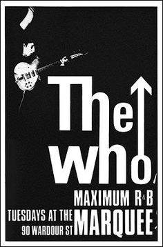 The Who | Concert Posters | Pinterest