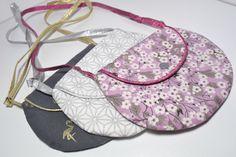 petit sac enfant fillette tissu liberty géométrique flamant rose création sac à main fille fait-main argenté doré gris parme blanc de la boutique Maluciole sur Etsy