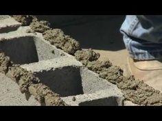 How to Build a Cinder Block Wall - Bob Vila