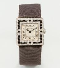 Cartier-Art-Déco-Schmuckarmbanduhr von 1911.