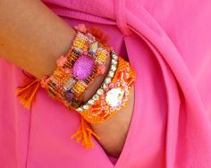 <3 friendship bracelets<3  from Cand(with a symbol)Chic facebook page!