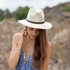 Saint Lucia Panama Hat #hat #fallstyle #cute #nectarclothing