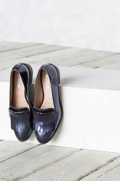 Mocasín Flecos | Zapatos de Mujer en Cortefiel