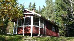 Rådjuret. Neugebautes Ferienhaus in naturschöner Lage mit Sauna. Småland, Sverige