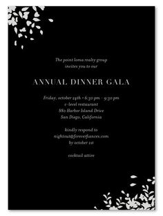 Gala Invitations for black tie corporate event. illustrated with silver metallic ink! Printed on recycled, in San Diego, California. Black Tie Invitation, Gala Invitation, Corporate Invitation, Carton Invitation, Business Invitation, Invitation Wording, Invitation Design, Wedding Invitation, Party Invitations