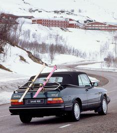Saab 900 S classic, prepared for enjoying winter time!