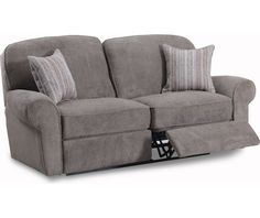 Alton Rolled Arm Reclining Sofa Ecru For the Home Pinterest
