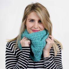 Cosy Snood Crochet Pattern #crochet #snood