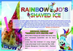 Rainbow Jo's Shaved Ice, Tag : Bakso, Bakso Kaget, Baso, Berita Franchise, Bisnis Bakso, Bisnis Franchise, Franchise Bakso, kemitraan bakso, peluang baru usaha makanan, Peluang Usaha, Peluang Usaha Bakso, Pepper Lunch, Waralaba Bakso Meatball, Event Ticket