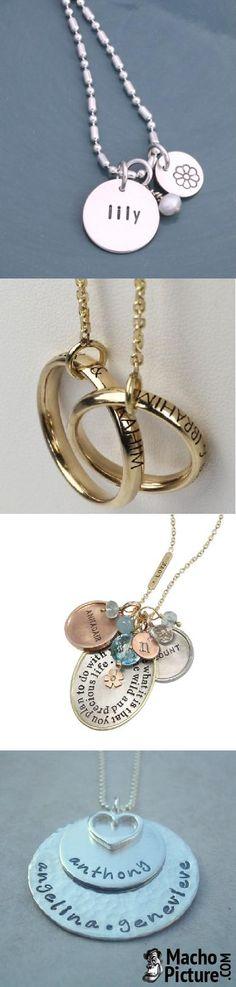 Personalized jewelry - 5 PHOTO!