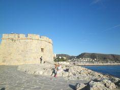 Moraira castle.