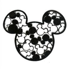 disney character silhouettes cutouts | Mickey Mouse Icon – Cutouts