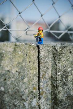 miniature Lego scenes by Samsofy (LP)                              …