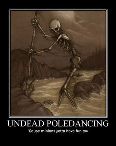 Undead Poledancing