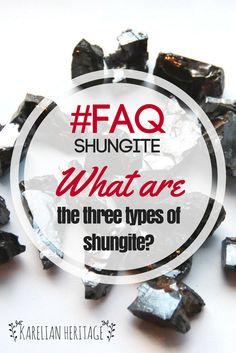 What is the DIFFERENCE between regular and elite shungite? ☝️ Type III and type II shungite are REGULAR SHUNGITE with 30-90% of carbon in it. All shaped products are made of type III shungite since it can be easily shaped and polished ⚒️ Type I is ELITE SHUNGITE with 90-98% of carbon in it. It amounts for less than 1% of all shungite found and is usually digged by individuals ✨ LEARN MORE following the link!  #FAQ #KarelianHeritage #KarelianShungite