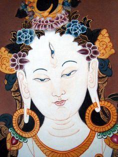 White Tara, Bodhisattva of Compassion.