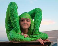 Oksana Sytova. Circus actress. Russia, Mosсow