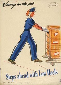 Jenny on the Job, 1944