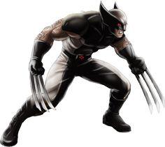 Uncanny X-Force Wolverine alt M:AA Marvel Avengers Alliance, New Avengers, Marvel Comics, X Men, Comic Book Heroes, Comic Books, Comic Art, Training Montage, Marvel Cards
