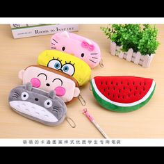 1 pcs/lot school kawaii totoro pencil case bag/pencil bag panda plush Cosmetic Purse Zipper Bag Coin Pouch Kids Gift 12 colour #>=#>=#>=#>=#> Click on the pin to check out discount price, color, size, shipping, etc. Save and like it!
