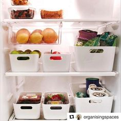 IKEA 2019 Pluggis not new but my all time favourite PLUGGIS storage series brings a contemporary feel to ages-old organization needs. Made of recycled PET plastic you can put them inside drawers h The post IKEA 2019 appeared first on Apartment Diy. Refrigerator Organization, Kitchen Organisation, Organized Fridge, Fridge Storage, Ikea Kitchen Storage, Storage For Small Kitchen, Ikea Storage, Organised Home, Home Organization