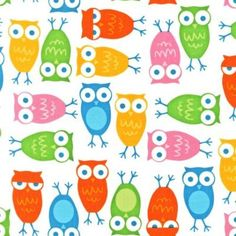Urban Zoologie Owls on White by Ann Kelle for Robert Kaufman Fabrics cotton novelty fabric Owl Fabric, Cotton Quilting Fabric, Cotton Quilts, Patchwork Quilting, Fabric For Sale Online, Fabric Animals, Windham Fabrics, Novelty Fabric, Shops